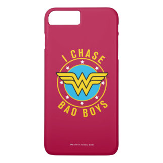 Wonder Woman - I Chase Bad Boys iPhone 8 Plus/7 Plus Case