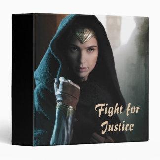 Wonder Woman in Cloak Binders