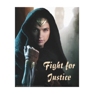 Wonder Woman in Cloak Canvas Print