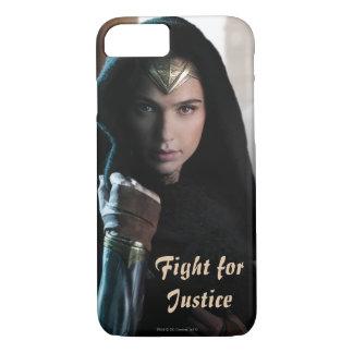 Wonder Woman in Cloak iPhone 8/7 Case
