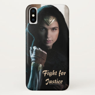 Wonder Woman in Cloak iPhone X Case
