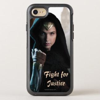 Wonder Woman in Cloak OtterBox Symmetry iPhone 8/7 Case