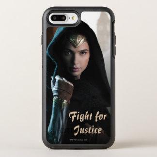 Wonder Woman in Cloak OtterBox Symmetry iPhone 8 Plus/7 Plus Case