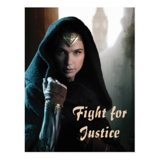 Wonder Woman in Cloak Postcard