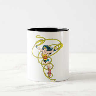 Wonder Woman in Lasso Two-Tone Mug
