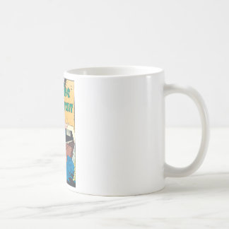 Wonder Woman Invisible Trail Classic White Coffee Mug