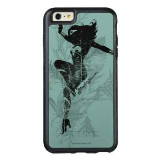 Wonder Woman Landing Foliage Graphic OtterBox iPhone 6/6s Plus Case