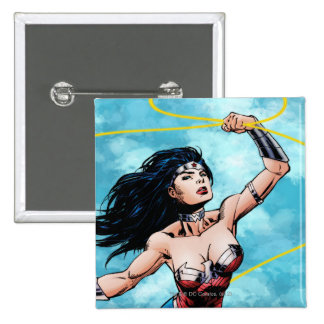 Wonder Woman Lasso of Truth Pinback Button