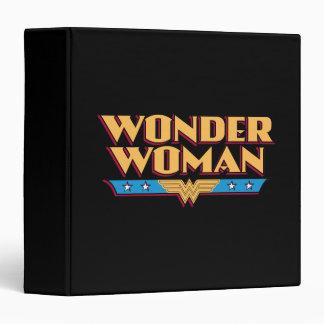 Wonder Woman Logo 2 3 Ring Binder