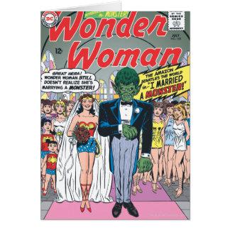 Wonder Woman Married a Monster Card
