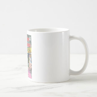Wonder Woman Married a Monster Classic White Coffee Mug