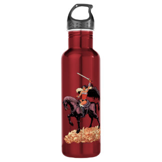 Wonder Woman New 52 Comic Cover #24 710 Ml Water Bottle