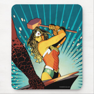 Wonder Woman New 52 Comic Cover #7 Mouse Pad