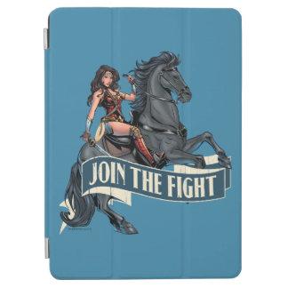 Wonder Woman on Horse Comic Art iPad Air Cover