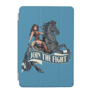 Wonder Woman on Horse Comic Art iPad Mini Cover