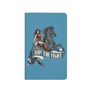 Wonder Woman on Horse Comic Art Journal