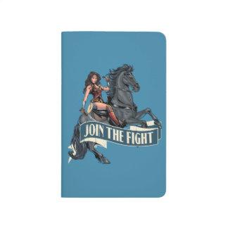 Wonder Woman on Horse Comic Art Journal