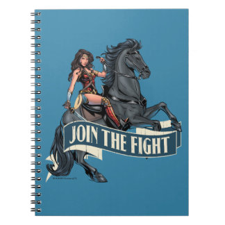 Wonder Woman on Horse Comic Art Notebook