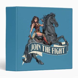 Wonder Woman on Horse Comic Art Vinyl Binders