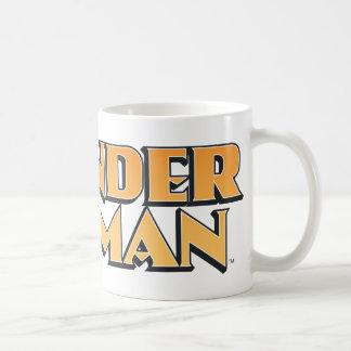 Wonder Woman Orange Logo Classic White Coffee Mug
