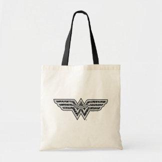 Wonder Woman Paisley Logo
