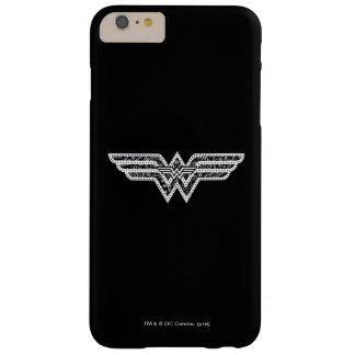 Wonder Woman Paisley Logo Barely There iPhone 6 Plus Case