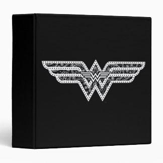 Wonder Woman Paisley Logo Binder