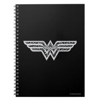Wonder Woman Paisley Logo Notebooks