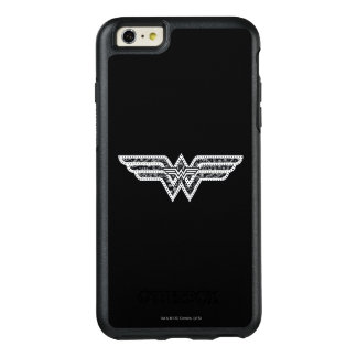 Wonder Woman Paisley Logo OtterBox iPhone 6/6s Plus Case