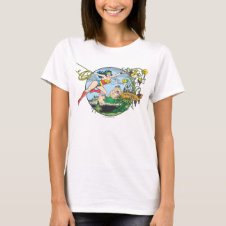 Wonder Woman Paradise Island T-Shirt