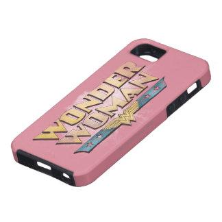 Wonder Woman Pencil Logo iPhone 5 Cases