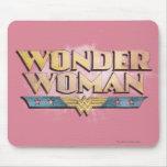 Wonder Woman Pencil Logo Mousepads