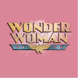 Wonder Woman Pencil Logo Standing Photo Sculpture