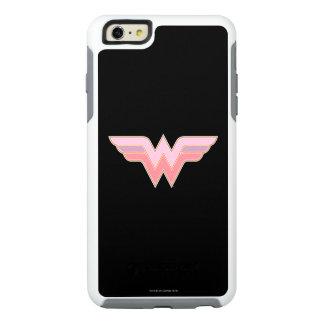 Wonder Woman Pink and Orange Mesh Logo OtterBox iPhone 6/6s Plus Case