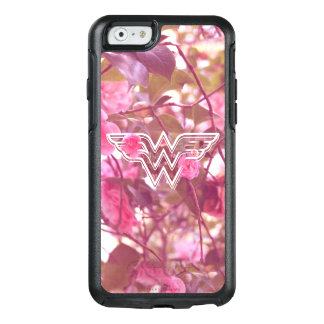 Wonder Woman Pink Camellia Flowers Logo OtterBox iPhone 6/6s Case