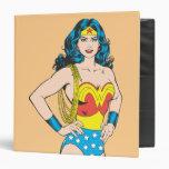 Wonder Woman Portrait 3 Ring Binders