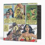 Wonder Woman Princess Diana 3 Ring Binders