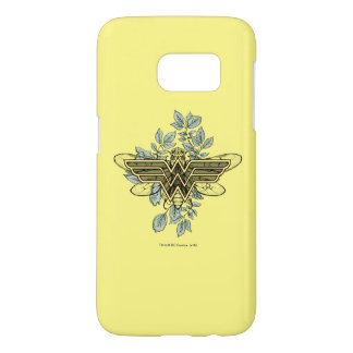 Wonder Woman Queen Bee Logo Samsung Galaxy S7 Case