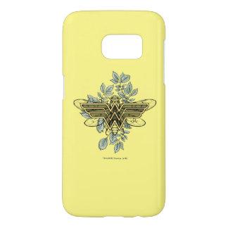 Wonder Woman Queen Bee Logo Samsung Galaxy S7 Case