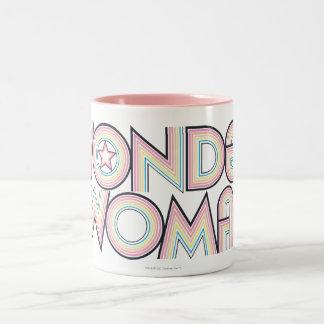 Wonder Woman Rainbow Logo Mug