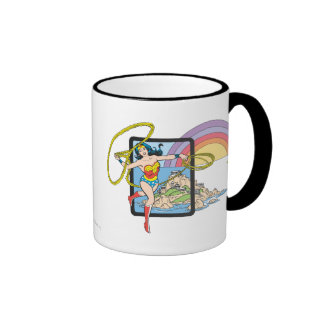 Wonder Woman Rainbow Mug