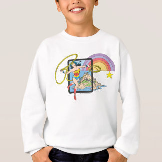 Wonder Woman Rainbow Sweatshirt