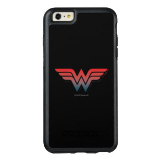 Wonder Woman Red Blue Gradient Logo OtterBox iPhone 6/6s Plus Case