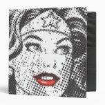 Wonder Woman Red Lips Binders