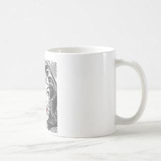 Wonder Woman Red Lips Classic White Coffee Mug