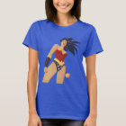Wonder Woman Retro City Sunburst T-Shirt