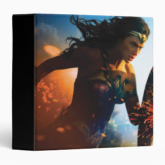 Wonder Woman Running on Battlefield Binder