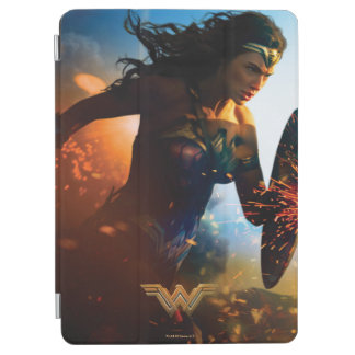 Wonder Woman Running on Battlefield iPad Air Cover