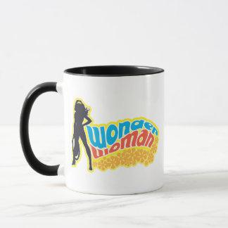 Wonder Woman Silhouette Mug