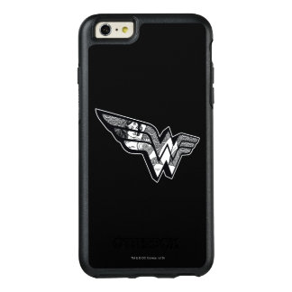 Wonder Woman Sitting In Angled Lace Logo OtterBox iPhone 6/6s Plus Case